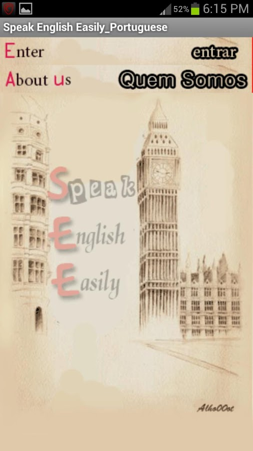 Speak English Easily_Portugues - screenshot