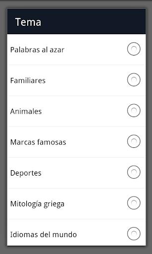 Sopa de Letras Espau00f1ol  screenshots 4