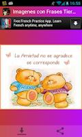 Screenshot of Imagenes con Frases Tiernas