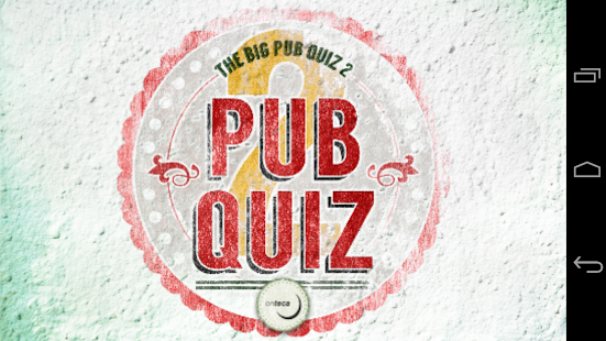 The Big Pub Quiz