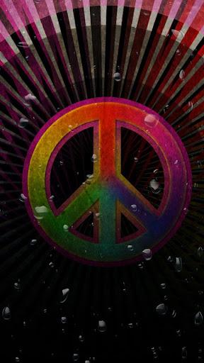 和平標誌波壁紙