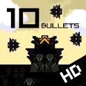10 Bullets HD logo