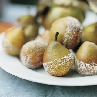 Sugared Seckel Pears