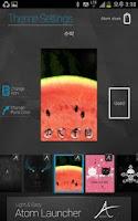 Screenshot of Cool and Sweet Atom Theme