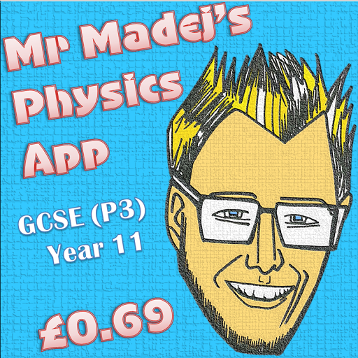 Mr Madej's Physics App P3 LOGO-APP點子
