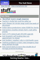 Screenshot of News of NewZealand-FREE