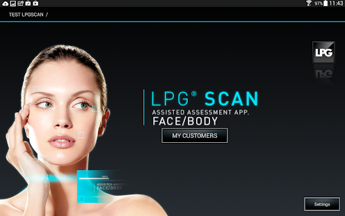 LPG SCAN screenshot