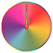 Rainbow Clock (Widget)