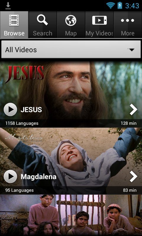 Jesus Film Media - screenshot