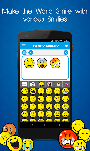 free fancy smiley untuk android