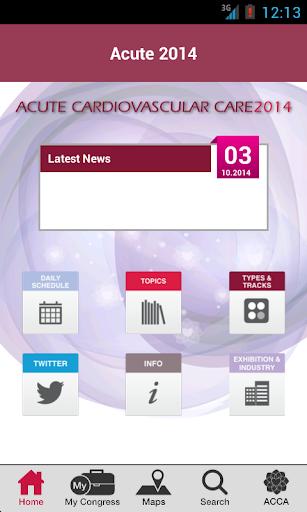 玩免費醫療APP|下載Acute 2014 app不用錢|硬是要APP