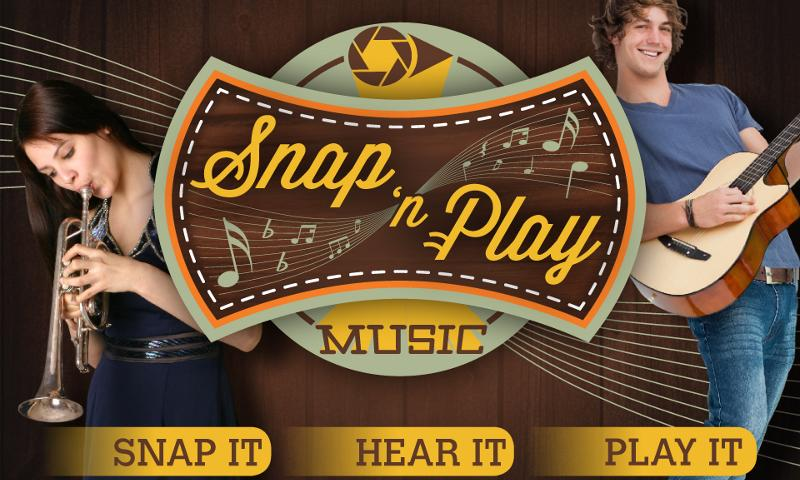 SnapNPlay music - screenshot