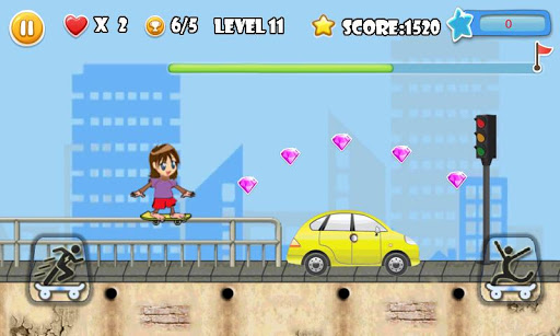 Street Skater Girl