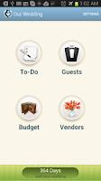 Screenshot of Our Wedding Planner