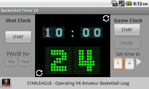 Basketball Timer 24