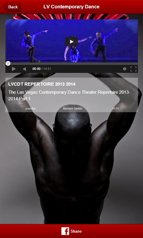 LV Contemporary Dance Theater- screenshot