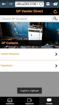 GP Vendor Directory
