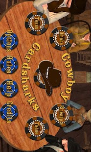 Cowboy Cardsharks Hold'em- screenshot thumbnail