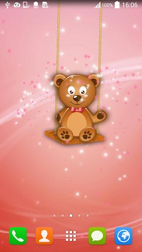 动态壁纸泰迪熊