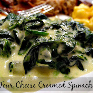 Four Cheese Creamed Spinach