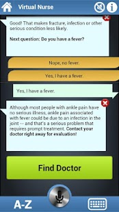 Best Android Symptom Checker- screenshot thumbnail