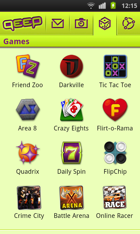 Qeep - Chat, Flirt, Friends - screenshot