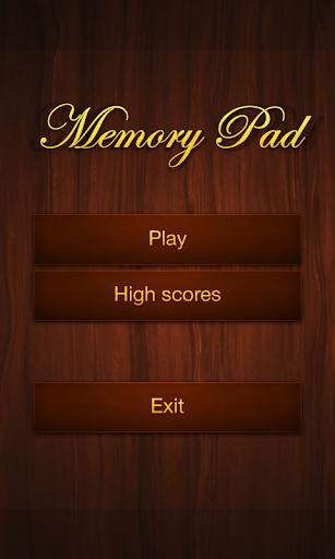 Memory Pad