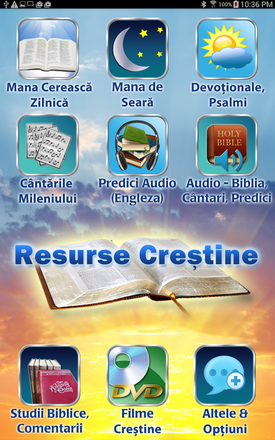 Resurse Crestine-Video, Audio- screenshot