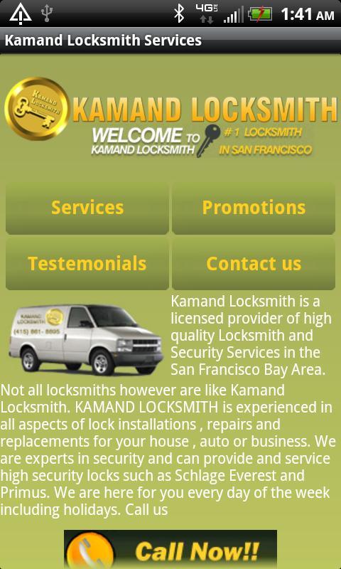 Kamand Locksmith Services - screenshot