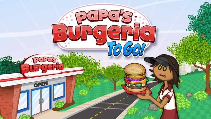 Papa's Burgeria To Go!- screenshot