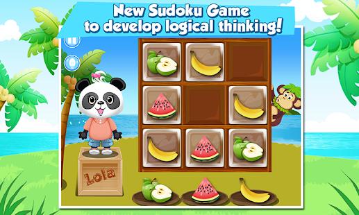 Lola's Fruity Sudoku - náhled