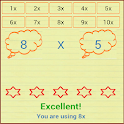 Times Tables Quiz 4 Kids icon