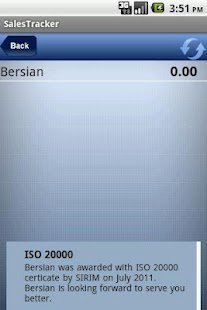 Bersian Sales Tracker - screenshot thumbnail