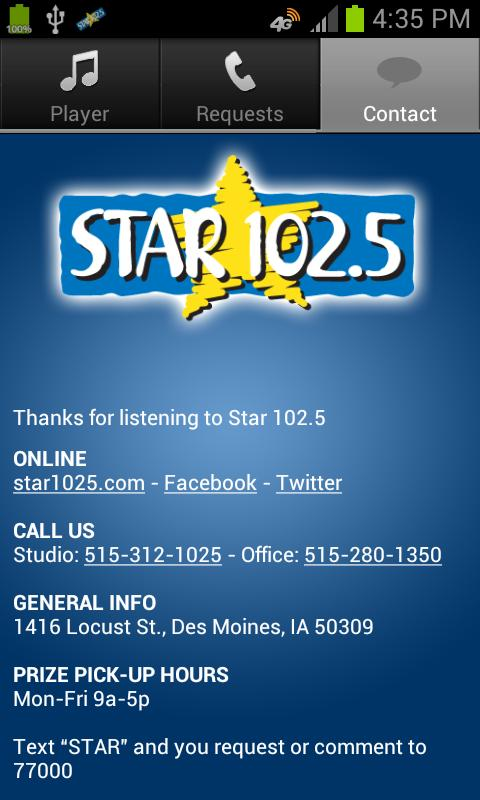 Star 102.5 - screenshot