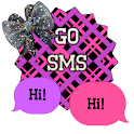 GO SMS - Sweet Bows 7 icon