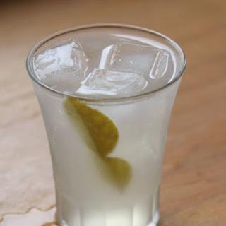 Kaffir Lime Sour with Ginger