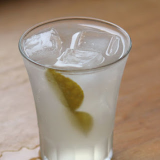Kaffir Lime Sour with Ginger.