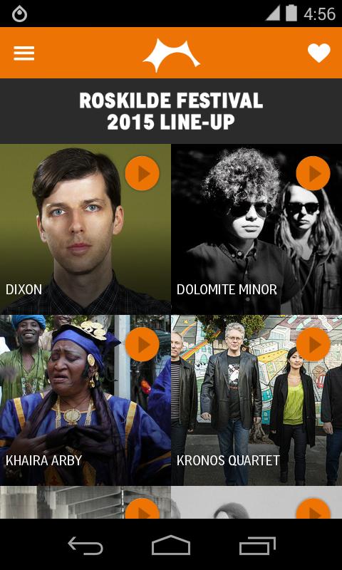 Roskilde Festival - screenshot