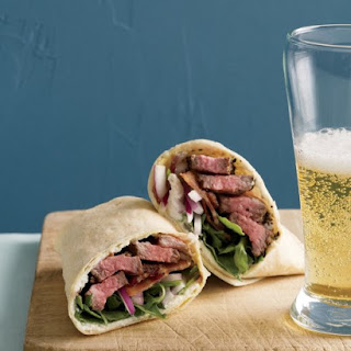 Steak Sandwich Wrap.
