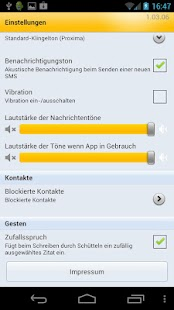 WEB.DE SMS mit Free Message - screenshot thumbnail