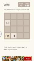 Screenshot of 2048 chemistry
