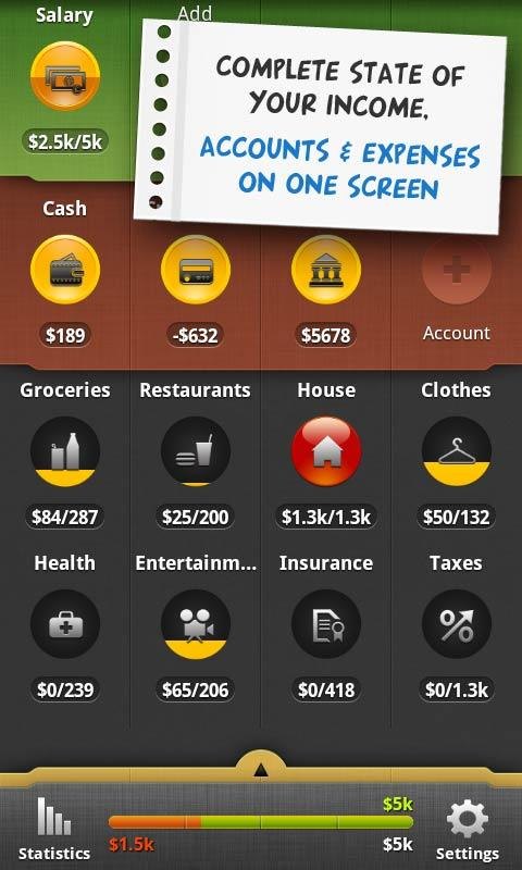 CoinKeeper: expense tracker - screenshot