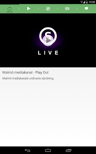Malmö Mediakanal Play- screenshot thumbnail