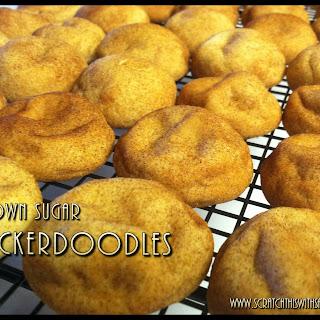 Brown Sugar Snickerdoodles