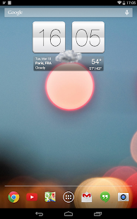 Sense V2 Flip Clock & Weather- screenshot thumbnail