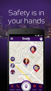 bSafe - Personal Safety App - screenshot thumbnail