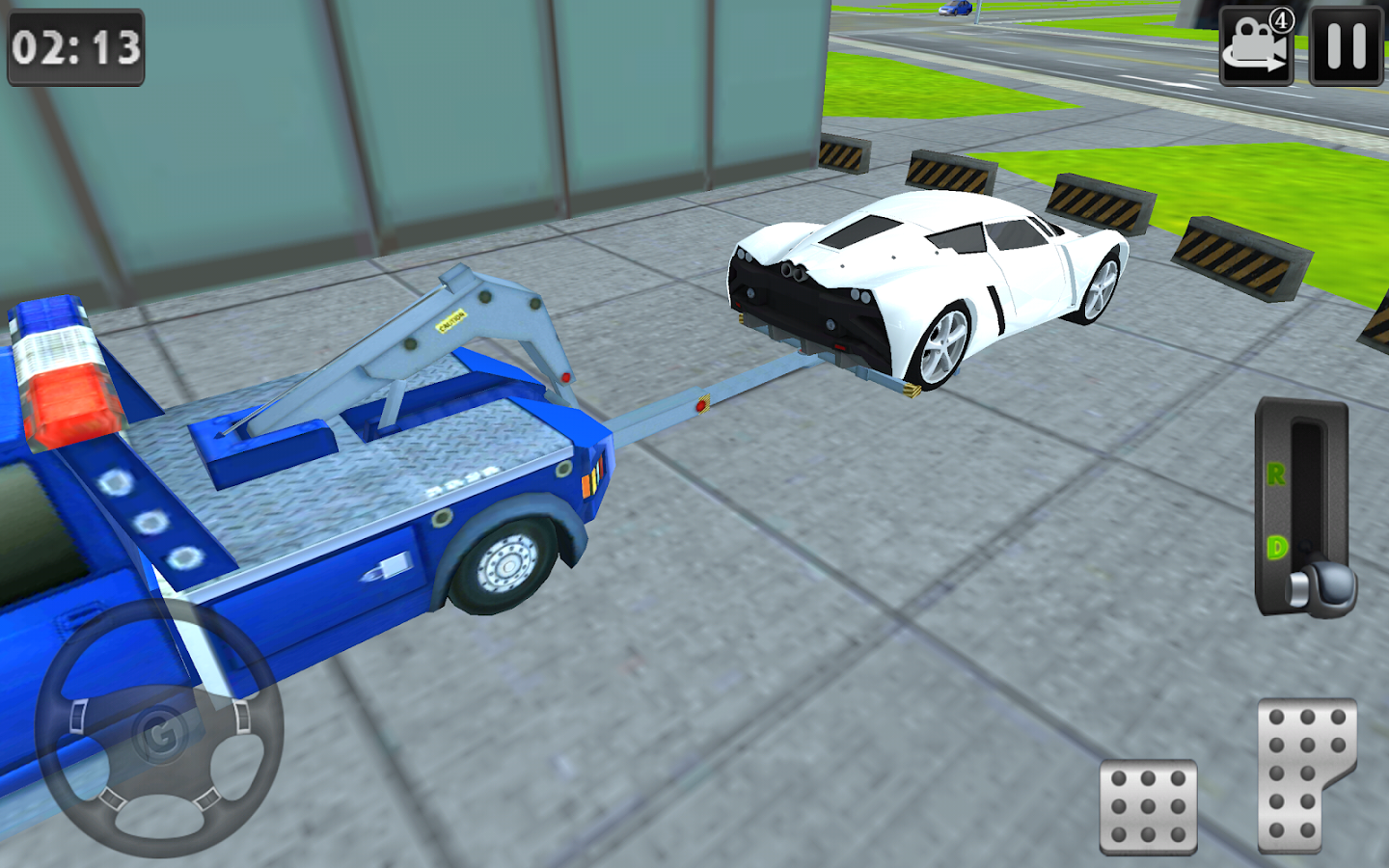 3d tow truck parking simulator android apps on google play