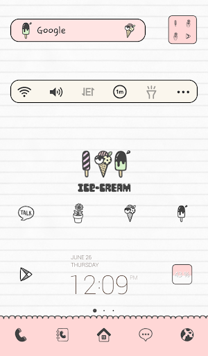 icecream best dodol theme