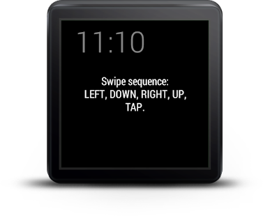 Showear: Android Wear Lock Screenshot 4