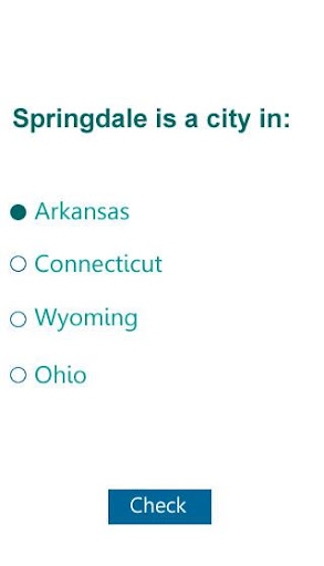 US Cities learning quiz